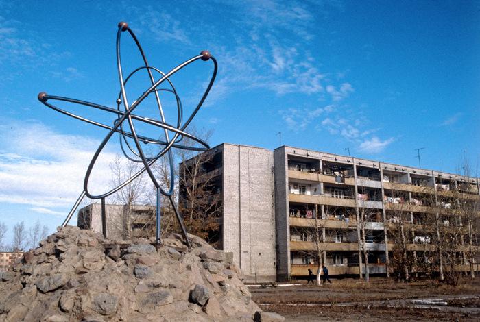 Центр Семипалатинского ядерного полигона - город Курчатов. Казахстан , Семипалатинская область. Там и сейчас живут люди. Фото: Alexander Liskin/wikipedia.org/CC BY-SA 3.0
