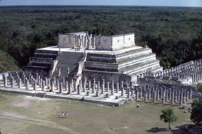 Храм Воинов, Чичен-Ица. Фото: Jim G/wikipedia.org/CC BY 2.0