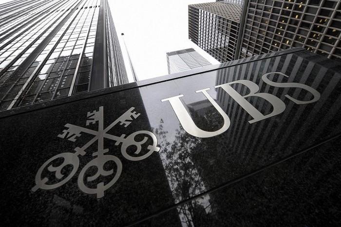 Здание крупнейшего швейцарского банка UBS. Фото: TIMOTHY A. CLARY/AFP/Getty Images