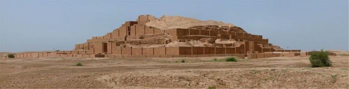 Зиггурат Tchogha zanbil. Провинция Хузестэн, Иран. Фото: Pentocelo/en.wikipedia.org/CC BY-SA 3.0
