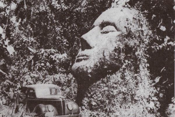 Гигантская каменная голова в Гватемале хранит свою тайну
