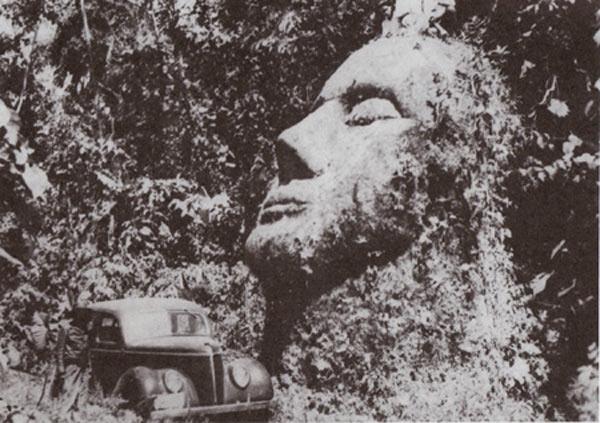 Картинки по запросу каменная голова гватемале