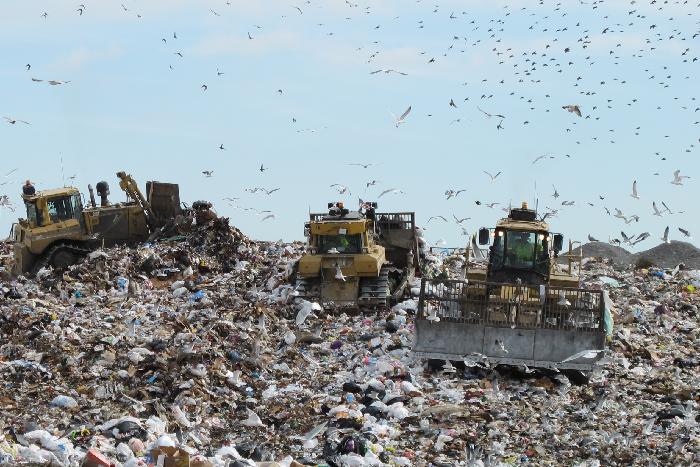 мусор Москвы