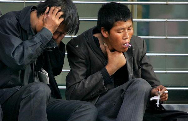В Китае продолжает расти число наркоманов и разнообразие наркотиков