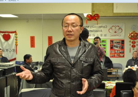 Ли Цзяньфэн на конференции Canadian Core Value Guardian 14 февраля 2016 г. в Ванкувере. Фото: Tang Feng/Epoch Times