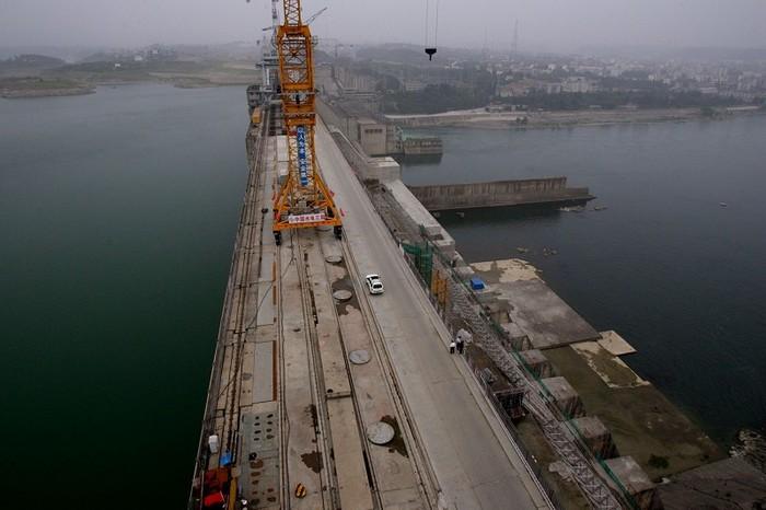 Часть среднего участка проекта переброски рек в Китае. Провинция Хубэй. Фото: China Photos/Getty Images