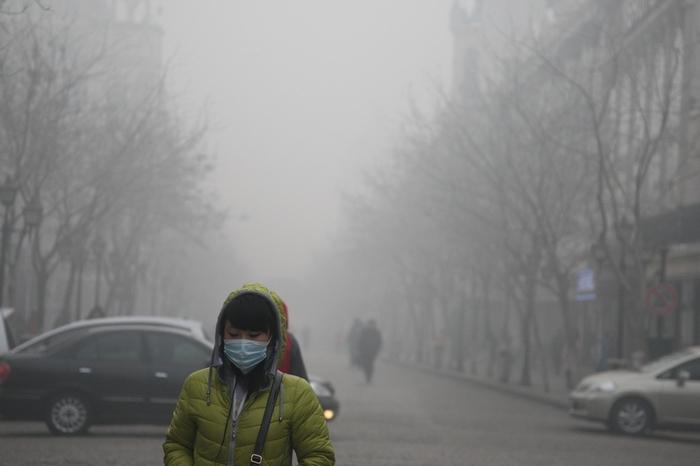 смог Пекина