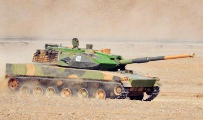 Стали известны подробности конструкции китайского горного танка