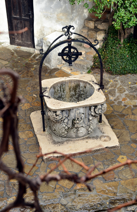 Колодец в замке Бран. Фото: Jaysmark/flickr.com/CC BY 2.0