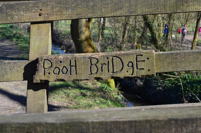 «Пухов мост», на котором Кристофер Робин и Винни играли в «пустяки». Фото: Matt Brown/flickr.com/CC BY 2.0