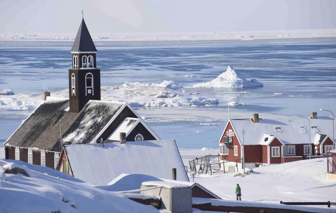 Посёлок на берегу Северного ледовитого океана. Фото: fgeoffroy/flickr.com/CC BY 2.0