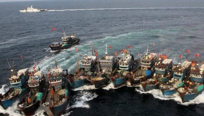 Китай пытается вытеснить США из Южно-китайского моря