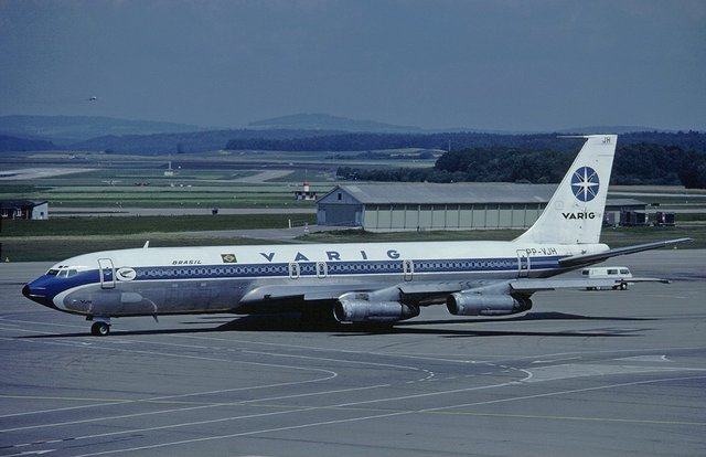 Boeing 707-323C. Фото: Eduard Marmet/wikipedia.org/CC BY-SA 3.0