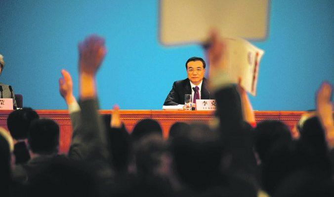 Китайский премьер снова пришёл в ярость на заседании правительства