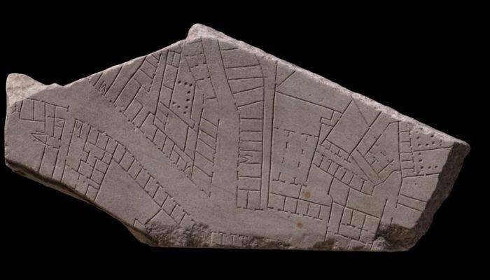 Найден новый фрагмент 2200-летней мраморной карты Рима