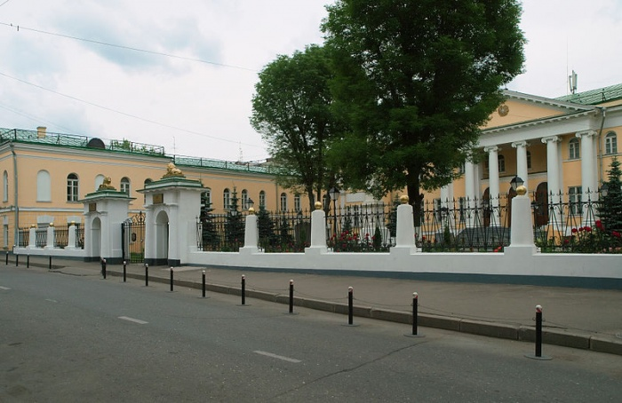 Бывший Лазаревский институт, современное посольство Армении в РФ. Фото: NVO/commons.wikimedia.org/ Creative Commons Attribution-Share Alike 3.0