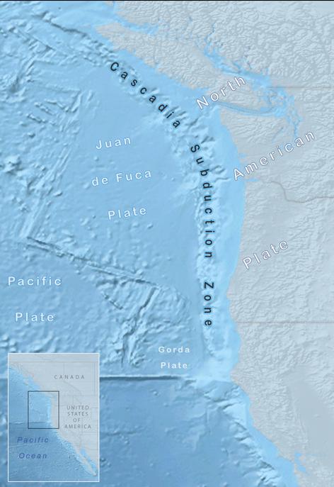 Площадь зоны субдукции Каскадия. Фото: Alicia.iverson/wikipedia.org/CC BY-SA 4.0