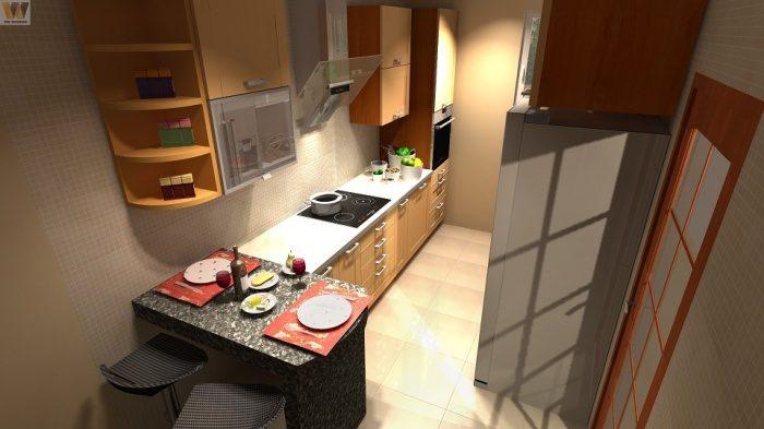 Возможно ли увеличить рабочее пространство кухни