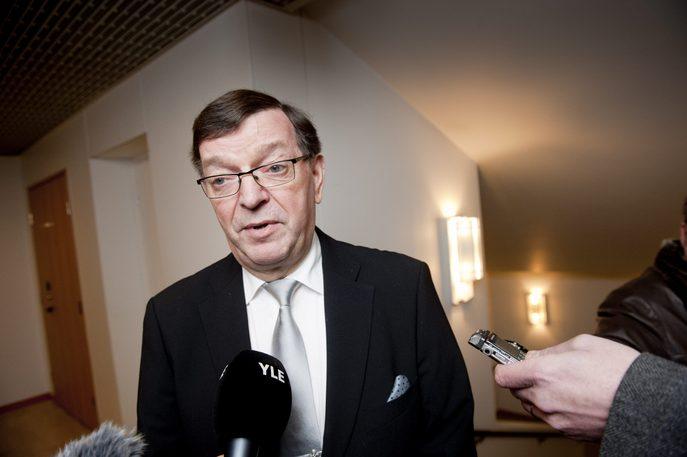Депутат Европейского парламента Пааво Вяюрюнен. Фото: MIKKO STIG/AFP/Getty Images