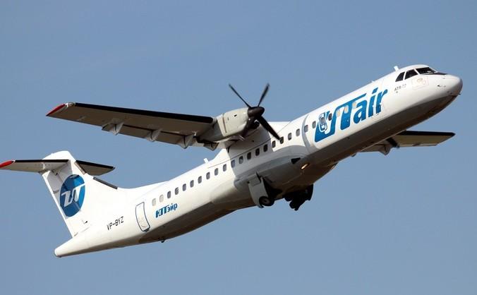Самолёт авиакомпании «ЮТэйр».  Фото: ALEXEY VLASYUK/AFP/Getty Images