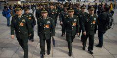 Бюджет армии Китая вырос на 7,6%