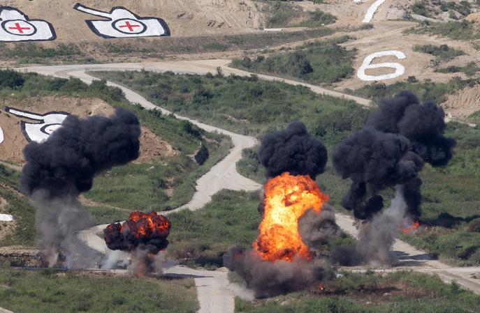 Учения США и Южной Кореи. Фото: Chung Sung-Jun/Getty Images