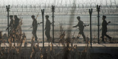 Обстановка на границе Южной Кореи и КНДР накаляется