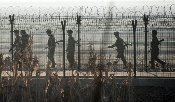Между Северной и Южной Кореей произошла перестрелка