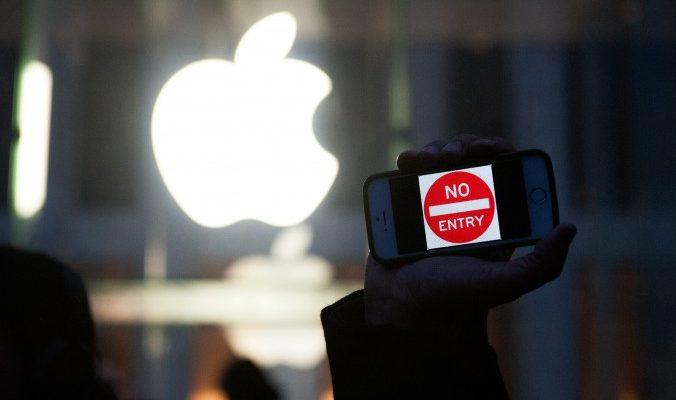 Ступая по тонкому льду:  сотрудничество Apple с китайскими властями