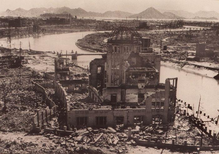 Хиросима после атомной бомбардировки. Фото:  AFP/Getty Images