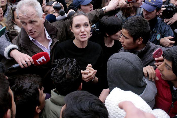 Как Анжелина Джоли расстроила китайских националистов и обрадовала тайваньцев