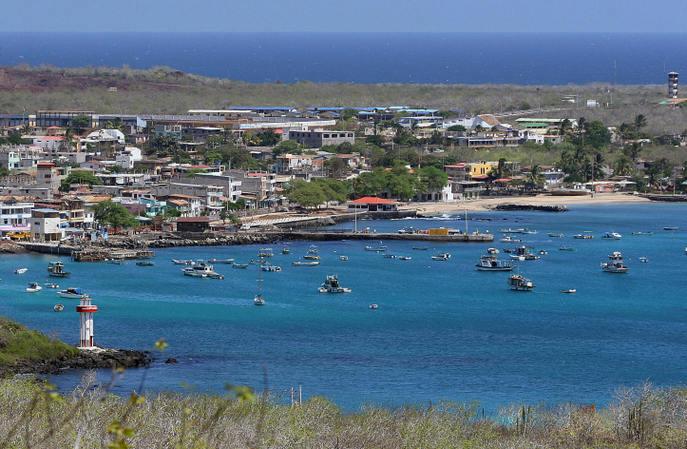 Сан-Кристобаль — самый восточный из островов Галапагос. Фото: RODRIGO BUENDIA/AFP/Getty Images