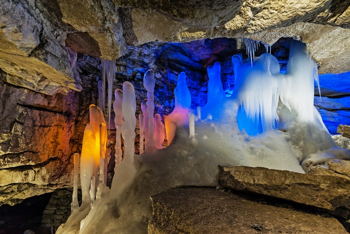Кунгурская ледяная пещера. Фото: Владимир Чуприков/ru.wikipedia.org/CC BY-SA 4.0