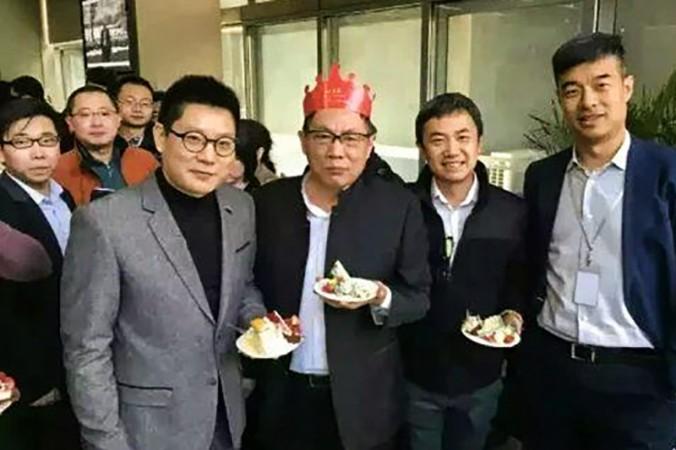 Жэнь Чжицян празднует 65-летие 8 марта 2016 г. Фото: Internet image