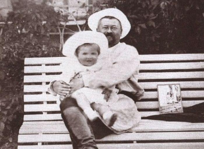 Савва Тимофеевич Морозов с сыном Саввой. Фото: public domain/wikipedia