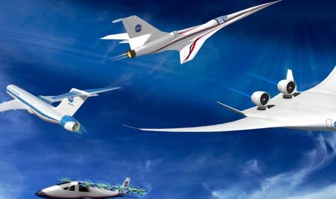 НАСА создаст экспериментальные Х-самолёты