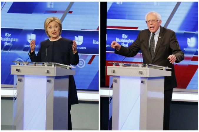 Хиллари Клинтон и Берни Сандерс. Фото: theepochtimes.com