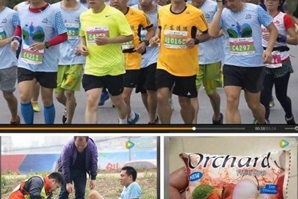 Тысячи марафонцев в Китае получили травмы, а после забега попробовали на вкус мыло