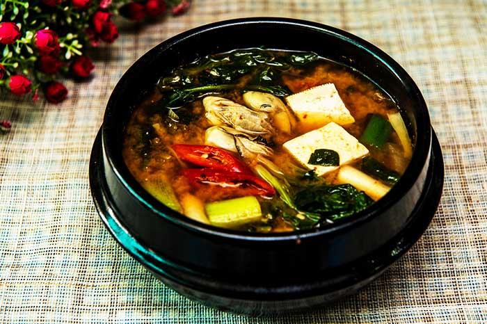 мисо, суп, водоросли