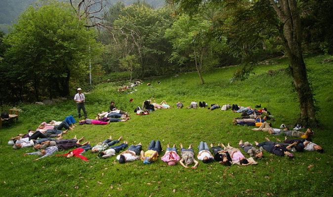Китайский предприниматель и любитель природы решил создать школу без стен