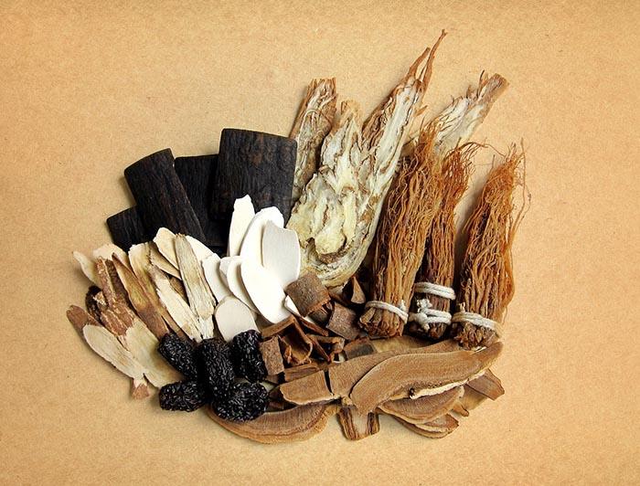 травы, китайская медицина
