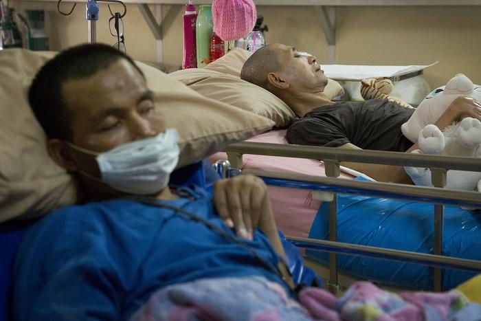 ВИЧ-больные в Таиланде. Фото: Taylor Weidman/Getty Images)