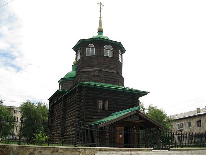 Музейный комплекс «Церковь декабристов»,1776 год, Чита. Фото: Александр В. Соломин/commons.wikimedia.org/CC BY-SA 3.0