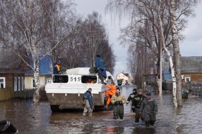 Плавающий самоходный бронетранспортер. Фото: с сайта МЧС России.
