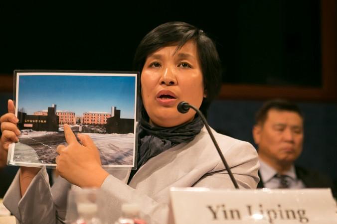 Инь Липин, последовательница Фалуньгун, прошла через пытки, сексуальное насилие и принудительный труд в трудовом лагере «Масаньцзя». Фото: Gary Feuerberg/Epoch Times