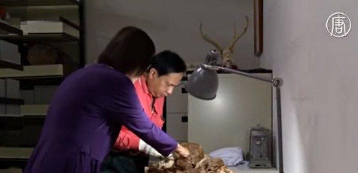 Сенсация Тайваня: мать обнимала новорождённого 5 тысяч лет (видео)