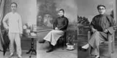 Фото: один китаец ― три эпохи