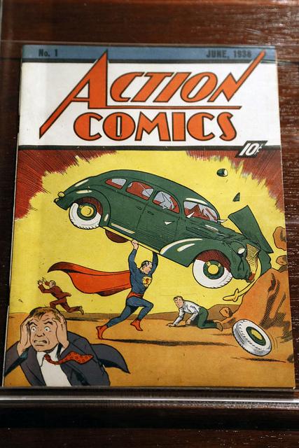 Первые комиксы о Супермене. Фото: Jim, the Photographer/flickr.com/CC BY 2.0