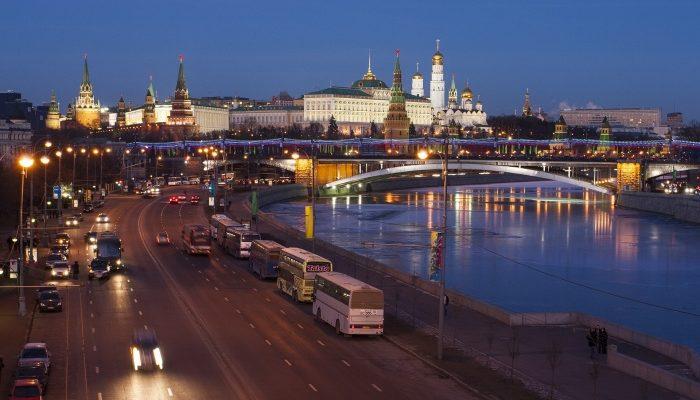 Москва: дорожная история