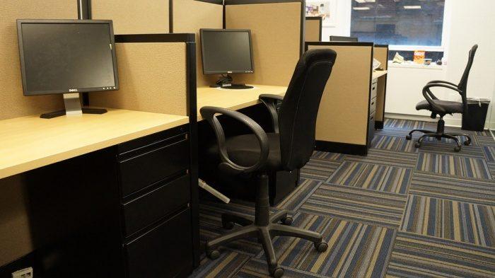 Дизайн интерьера маленького офиса